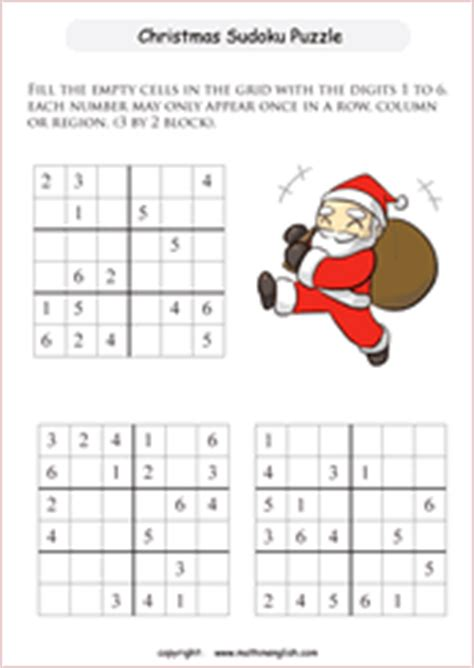 printable holiday sudoku christmas sudoku printable christmas decore