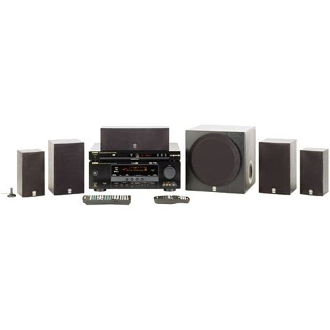 yamaha yht 680bl 5 1 channel home theater system yht 680bl b h