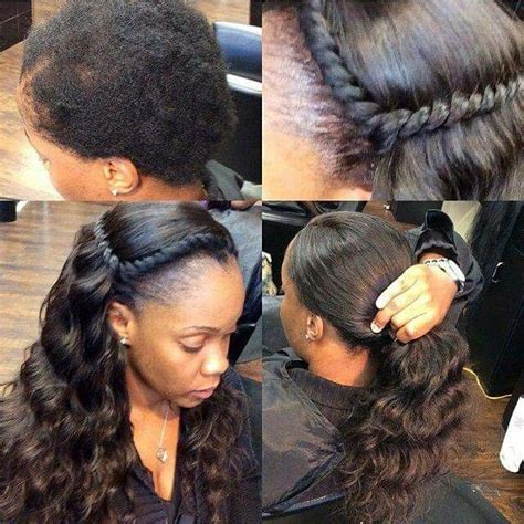 hair weave styles 2013 no edges natural sew in sew in pinterest natural hair style