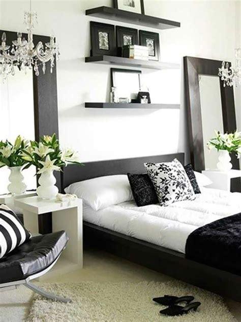 id馥 d馗o chambre noir et blanc 16 sources d inspiration design pour votre chambre 224 coucher