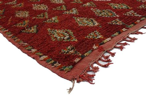 tribal pattern carpet berber moroccan carpet runner with tribal design and mid
