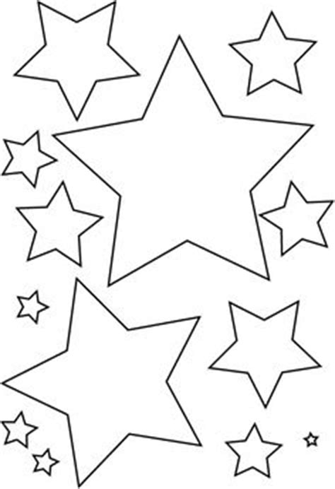 printable moon and star shapes crescent moon pattern use the printable outline for