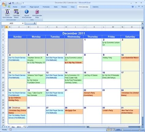 microsoft excel calendar template microsoft excel planner template calendar template 2016