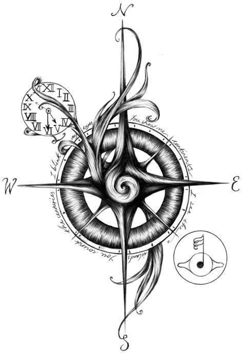 compass tribal tattoo compass tribal designs simple compass