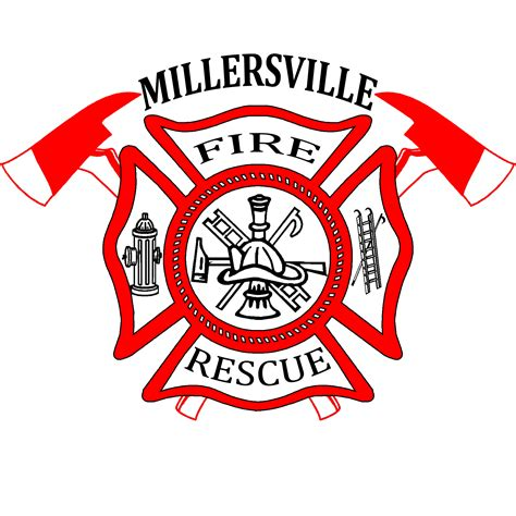 design a fire department logo millersville rural fire department