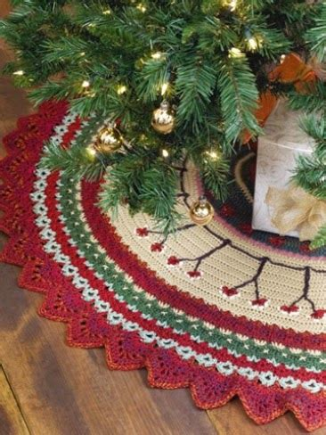 crochet christmas tree skirt patterns quilted tree skirt tutorials i want to try mytutorlist