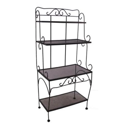 Bakers Rack Home Depot by Arlington House Baker S Rack Discontinued 7044100 0105157
