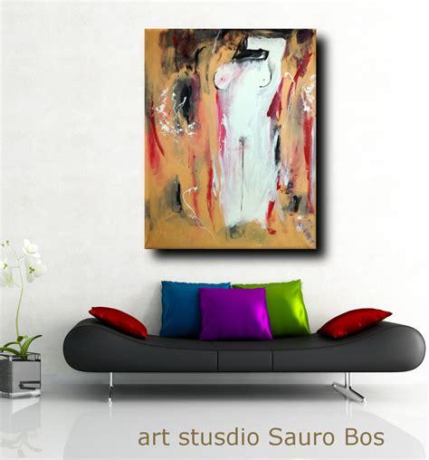 soggiorno colorato quadro moderno colorato per soggiorno 170x130 sauro bos