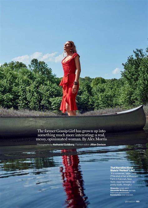 blake lively elle magazine france june 2016 15 jun 2016 blake lively glamour magazine september 2017 issue