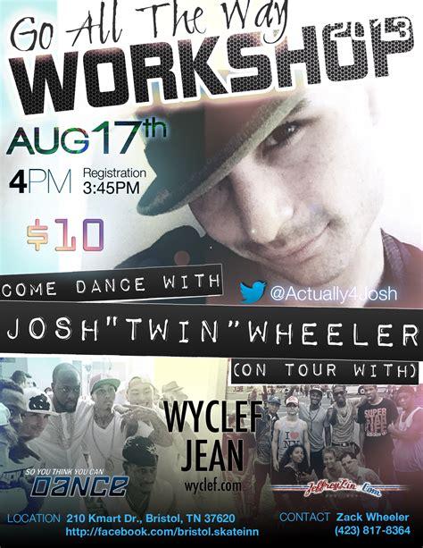 flyer design bristol promo flyer josh quot twin quot wheeler dance workshop quot go all
