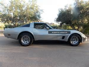 1982 chevrolet corvette base coupe 2 door 5 7l
