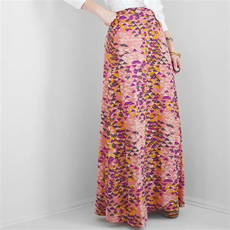 sewing wrap maxi skirt i still you by
