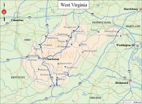 virginia state map virginia state map printable swimnova