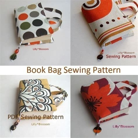 patterns english book pdf pdf sewing pattern book bag paperback cover by lillyblossom