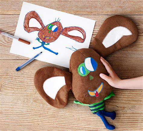 Turn Drawings Into Plush Toys