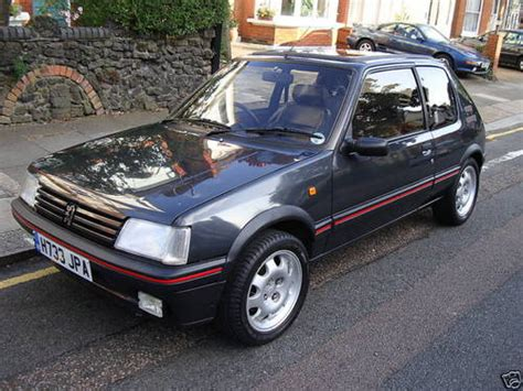pug 205 gti for sale peugeot 205 gti sold 1991 on car and classic uk c115259