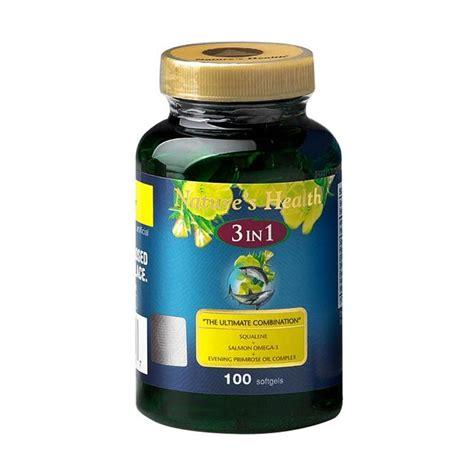 Suplemen Epo jual nature s health squalene omega epo 3 in 1 100