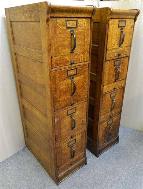 globe wernicke file cabinet for sale pair of oak filing cabinets by globe wernicke antiques atlas