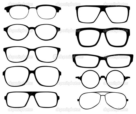 glasses vector free vector eyeglass clipart clipart collection black