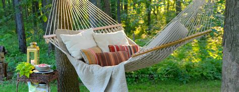backyard hammock refreshing the outdoors for summer