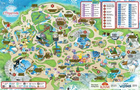 map world san diego seaworld san diego guide