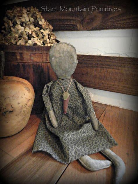 rag doll necklace 279 best primitive dolls images on antique