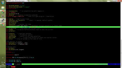 vim set color scheme bad colorscheme in vim running on putty tmux stack overflow
