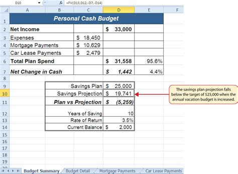 section 7 expenses calculator functions for personal finance
