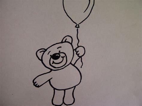 Leichte Sachen Zum Malen by Teddyb 228 R Mit Luftballon Zeichnen Zeichnen Basteln Zum