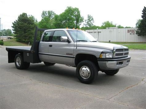 car engine manuals 1996 dodge ram 3500 free book repair manuals purchase used 1996 dodge ram 3500 12 valve 5 9 cummins diesel 5 speed manual trans drw flatbed