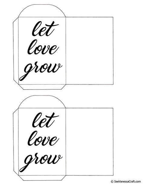 printable let love grow seed packets see vanessa craft