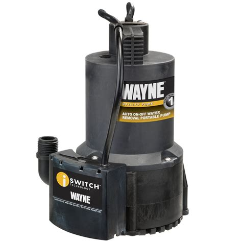 automatic water for basement wayne eeaup250 1 4 hp automatic on electric water