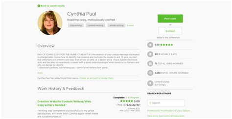 Upwork Resume Template How To Build Your Upwork Profile Successfully Likho Pakistan