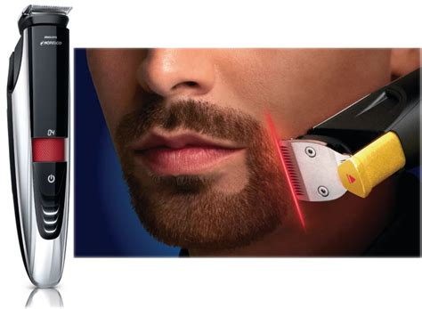 beard trimmer norelco 9100 trim your beard with a laser the gadgeteer