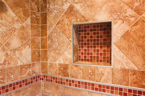 Shower Nitches by Burnt Sienna Schluter Ca
