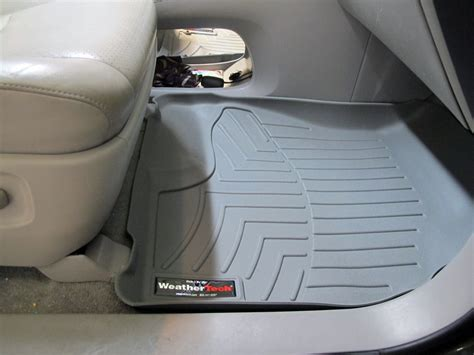 2005 Toyota Highlander Floor Mats by Weathertech Floor Mats For Toyota Highlander 2004 Wt460391