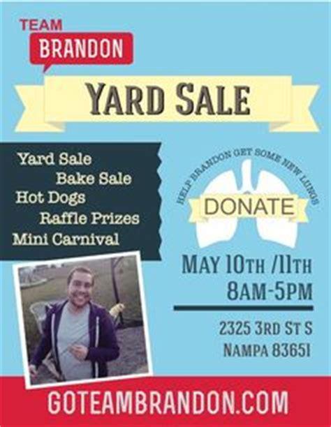 Fundraising Speech Sles yard sale ideas just b cause