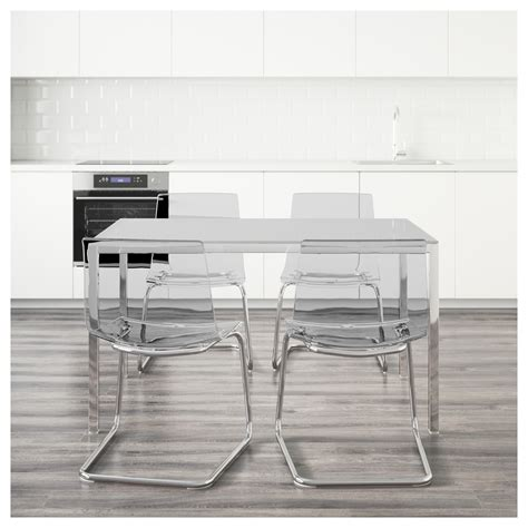 ikea torsby table review torsby tobias table and 4 chairs white transparent 135 cm
