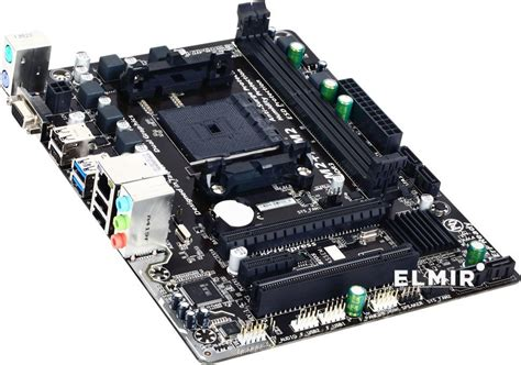 Gigabyte Ga F2a68hm H Amd A68h Fm2 Ddr3 Micro Atx Motherboard материнская плата s fm2 amd a68h gigabyte ga f2a68hm s1