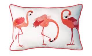 Fairway Home Decor whimsical flamingos pillow outdoor sunbrella 174 rightside