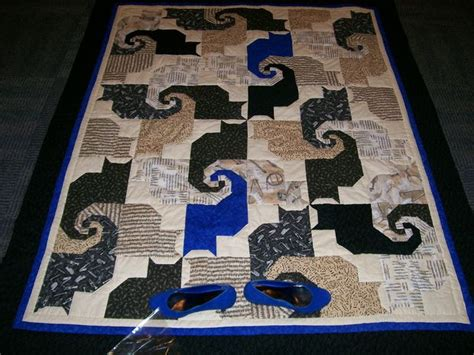 Quilting Cats by Fleece Throw Pattern Patterns