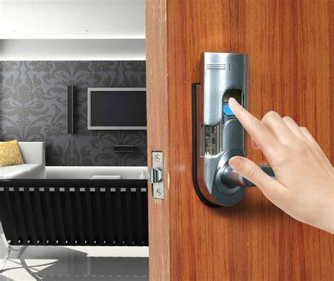 biometric security keyless keypad fingerprint door lock