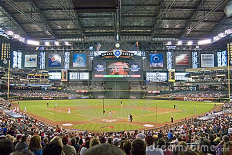 chase field editorial stock photo image