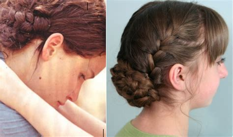 hairstyles braid games katniss reaping braid hunger games hairstyles cute