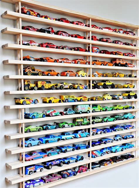 Matchbox Car Display Shelf by 30 Amazing Diy Storage Ideas For Crafty Page 2 Of 2 Diy Projects