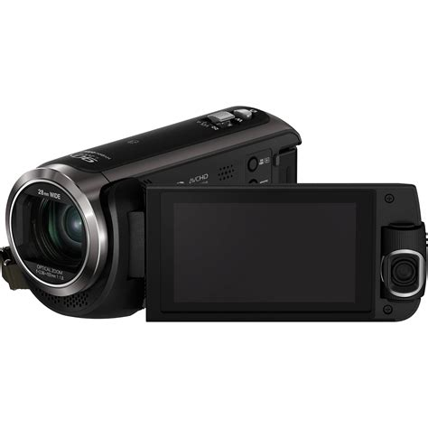 and camcorder panasonic hc w570 hd camcorder hc w570k b h photo