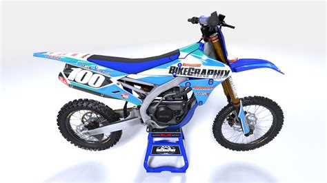 customized motocross yamaha blitz semi custom motocross graphics bikegraphix
