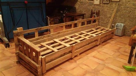 how to make a wooden sofa frame diy pallet wood couch pallet furniture diy