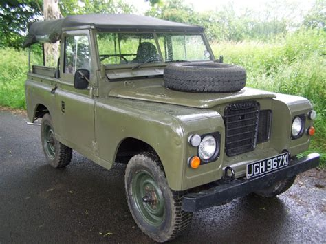 land rover series iii 88 ex military ex military for sale landrover defender landrover series 3 ex military 88