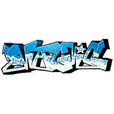 graffiti stickers for walls blue graffiti wall decal kerstee